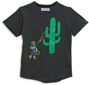 Sovereign Code Boys' Lassoed-Cactus Graphic Tee - Little Kid
