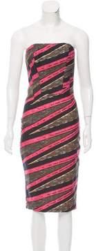 Stella Jean Printed Strapless Dress w/ Tags