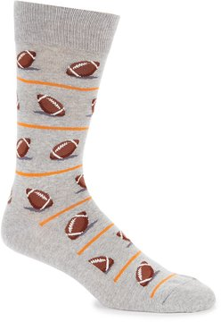 Hot Sox Football Crew Socks