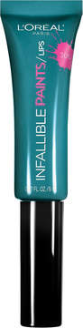 L'Oreal Infallible Lip Paints - Domineering Teal