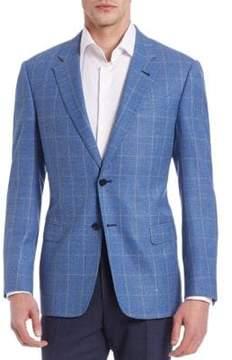 Armani Collezioni Wide Checked Sportcoat