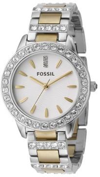 Fossil Women's 'Jesse' Crystal Embellished Bracelet Watch, 34Mm