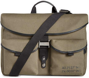 Calvin Klein Men's Natural Twill Messenger Bag