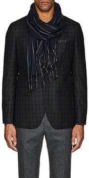 Barneys New York Men's Striped Cashmere Scarf