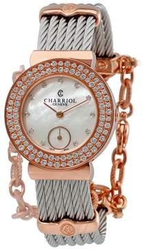 Charriol St-Tropez Ladies Diamonds Watch