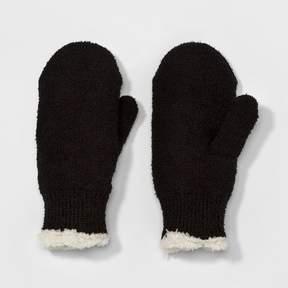 Isotoner Women's Knit Mitten - Black