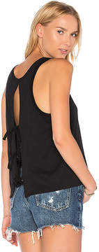 Feel The Piece Fanning Open Back Tank