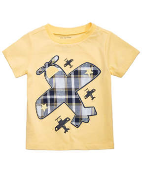 First Impressions Airplane-Print Cotton T-Shirt, Baby Boys, Created for Macy's