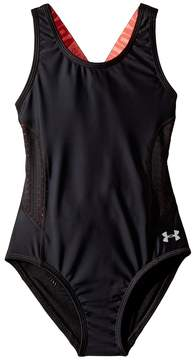 Under Armour Kids UA Racer One-Piece Girl's Swimsuits One Piece