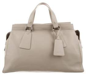 Giorgio Armani Leather Shopping Bag