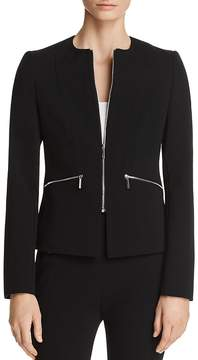 BOSS Jazulara Zip-Front Jacket