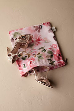 Floral Burst Shoe Bag