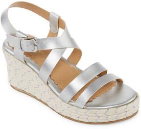 Arizona Belinda Girls Wedge Sandals - Little Kids/Big Kids