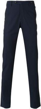 Pt01 printed crosses skinny trousers