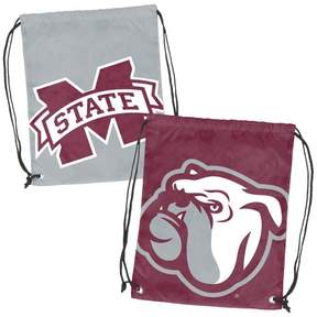 NCAA Mississippi State Bulldogs Logo Brands Doubleheader Drawstring Bag