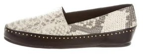 Ivy Kirzhner Embossed Tribeca Loafers w/ Tags