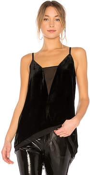 BCBGMAXAZRIA lyssa Tank Top With Asymmetrical Hem
