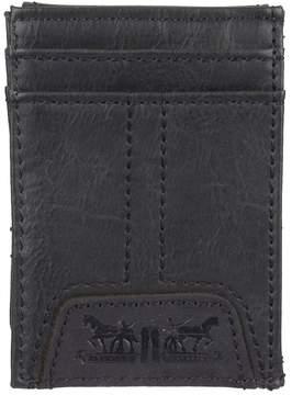 Levi's Men's Rfid-Blocking Wide Magnetic Front-Pocket Wallet