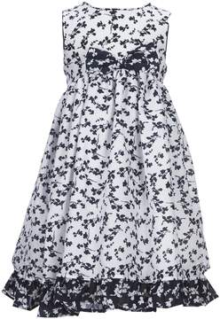 Laura Ashley London Little Girls 2T-6X Floral-Print Fit-And-Flare Dress