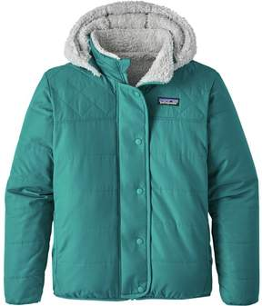 Patagonia Reversible Dream Song Hooded Down Jacket - Girls'