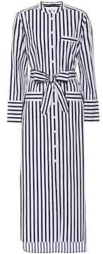 Equipment Striped cotton dress