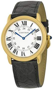 Cartier Ronde Solo de Men's Watch