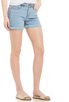 Noisy May Lucy Denim Rolled Cuff Shorts