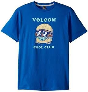 Volcom Cool Clubs Short Sleeve Tee Boy's T Shirt