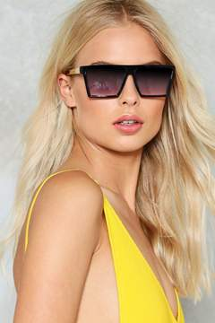 Nasty Gal nastygal On My Level Square Shades