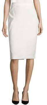 Escada Rava Stretch Cotton Pencil Skirt