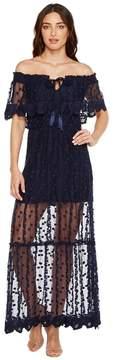 Adelyn Rae Josephine Woven Maxi Dress Women's Dress
