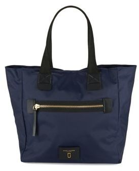 Marc Jacobs Contrast Tote - DARK VIOLET - STYLE