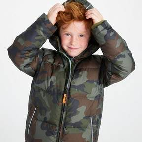 J.Crew Boys' camo puffer jacket