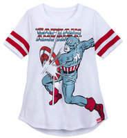Disney Captain America Pop Art T-Shirt for Women