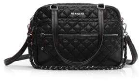 MZ Wallace Quilted Crosby Satchel