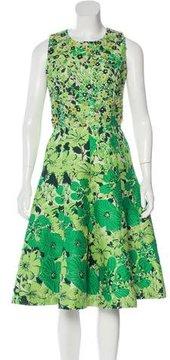 Andrew Gn 2015 Jacquard Dress