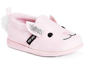 Muk Luks Girls Bonnie The Bunny Toddler Slip-On Sneaker