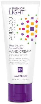 Andalou Naturals A Path of Light Lavender Hand Cream - 3.4 Oz