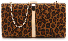 Nina Leopard Clutch - Women's