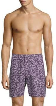 Onia Calder 7.5 Abstract-Patterned Swim Trunks
