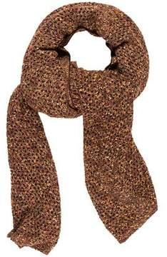 St. John Sport Knit Wool Blend Shawl
