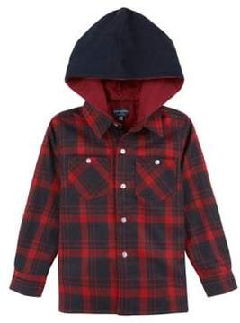Andy & Evan Little Boy's Hooded Button-Down Shirt