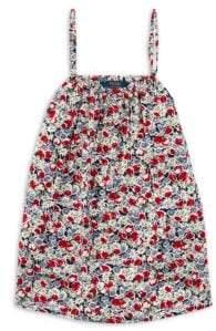 Ralph Lauren Girl's Floral Top