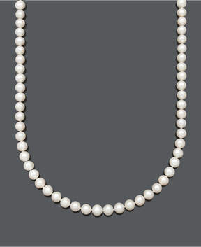 Belle de Mer Cultured Freshwater Pearl Strand Necklace (7-1/2-8-1/2mm) in 14k gold