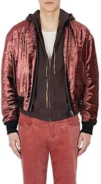 Haider Ackermann Men's Velvet Bomber Jacket