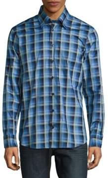 Robert Talbott Casual Checked Cotton Sportshirt