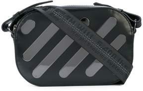 Off-White diagonal stripe camera bag