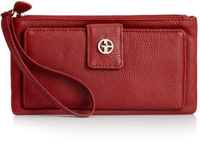 Giani Bernini Softy Grab & Go Leather Wristlet, Created for Macy's