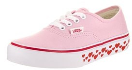 Vans Kids Authentic (hearts Tape) Skate Shoe.