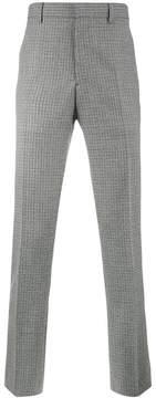 Calvin Klein side stripe checked trousers